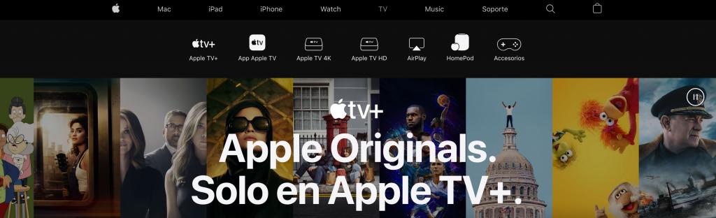 Baja Apple TV
