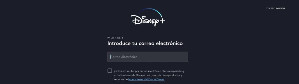 Disney Registro