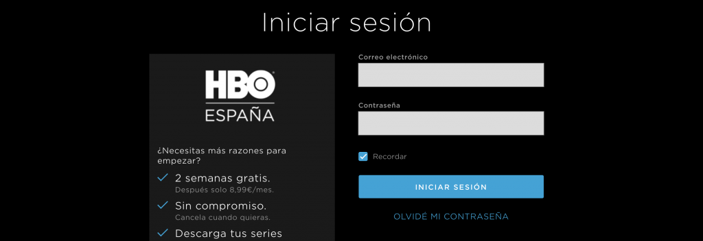 HBO registro